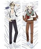 Tamengi Danganronpa 2 Dakimakura Hinata Hajime Komaeda Nagito Hugging Body Pillow Cover Otaku Cosplay DIY Custom Cushion