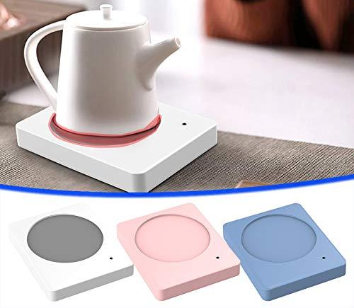 Elektrisches Cup Warmer Pad-Konstante Temperatur 55 ° C/ 131 ° F-Energie sparen,24 Stunden Wärmeschutz für den Heim- und Bürogebrauch Perfektes Geschenk