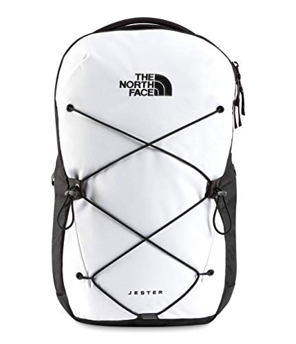The North Face Jester Backpack, TNF White/TNF Black, One Size