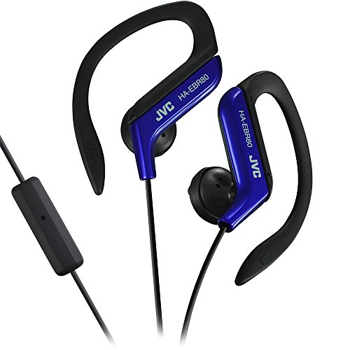 JVC HAEBR80A Sports Clip Headphones (Blue)