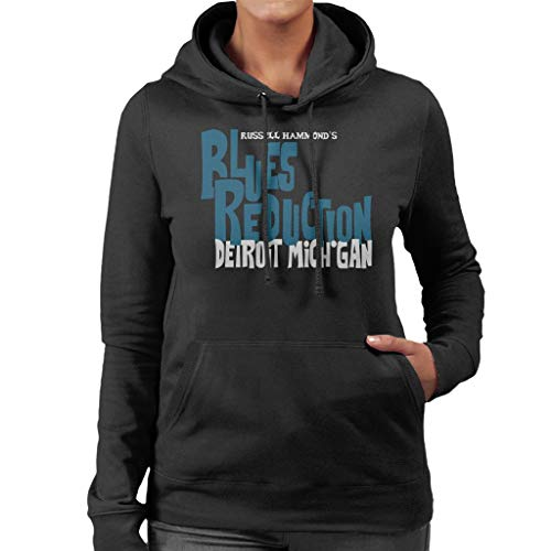 Almost Famous Russell Hammonds Blues Reduction Women's Hooded Sweatshirt