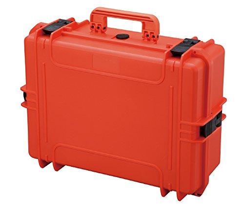 Gima 27228 Case 500 Valigia con Inserti in Spugna, Arancione