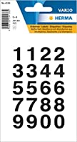 ヘルマラベル #4136 (防水シール)【数字】 304136