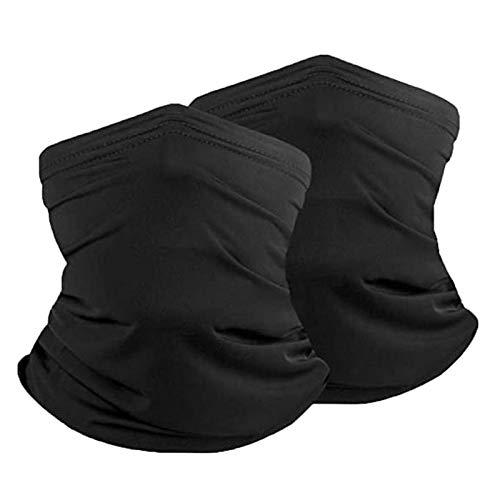 ZPFDM 2 stücke Outdoor-Sonnenschutz-Kopftuch, sportlich atmungsaktive Bandana, EIS-Silk-Stirnband für Dust-Headwarp für Frauen und Männer, Radfahren, Festivals