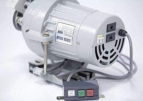 Best Price Clutch Motor Industrial Sewing Machine 1/2 HP/110/220 V Shaft Size Amco, 3/4 (1750 RPM Lo...