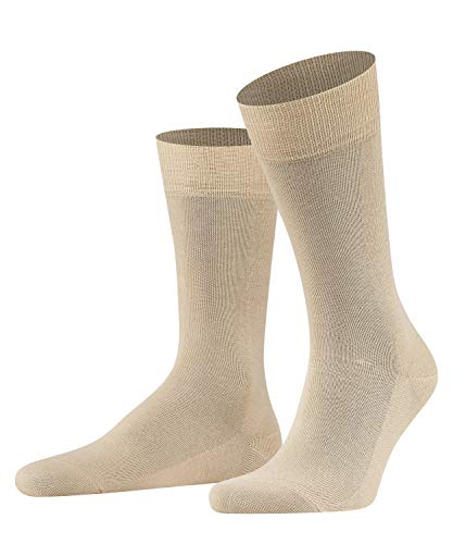 FALKE Herren Family M SO Socken, Blickdicht, Beige (Sand 4320), 43-46