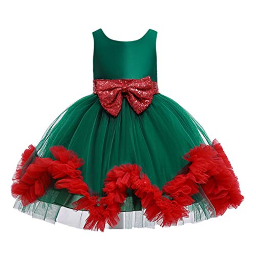 Great Deal! Toraway Girls Princess Dress Child Girls Cartoon Princess Pageant Gown Christmas Party W...