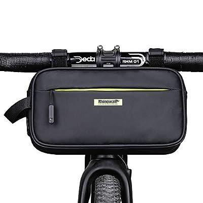 Rhinowalk Bike Handlebar Bag, Multifunctional Waterproof Mountain Bike Crossbar Front Bag Road Bike Basket Bicycle Frame Bag Waist Shoulder Bag Bicycle Bag Professional Cycling Accessories