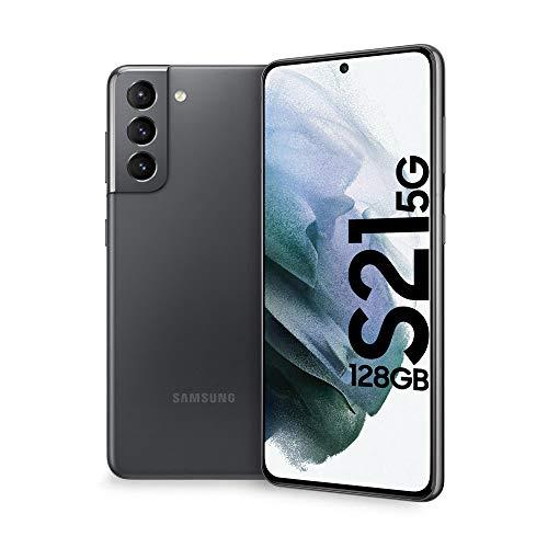 Samsung Smartphone Galaxy S21 5G Enterprise Edition, Display 6.2' Dynamic AMOLED 2X, 128 GB, RAM 8GB, Batteria 4000mAh, Dual SIM + eSIM, (2021) [Versione Italiana], Grigio (Phantom Gray)
