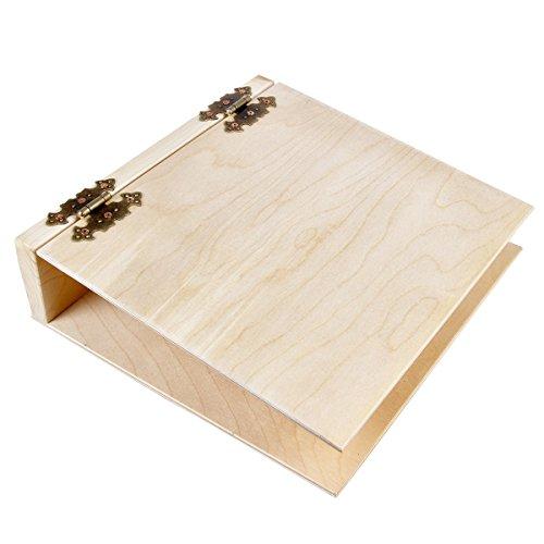 Cartella portadocumenti A4 in legno chiaro