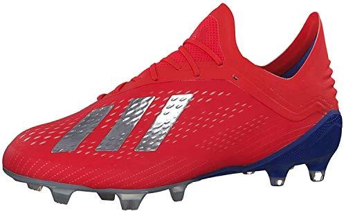 adidas Herren X 18.1 Fg Fußballschuhe, Mehrfarbig (Rojact/Plamet/Azufue 000), 39 1/3 EU