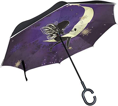 with C Handle Cars Inverted Ourdoor overseas Ranking TOP10 Story Umbrella Moo Christmas