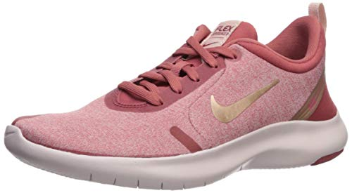 Nike Women's Flex Experience Run 8 Sneaker, Light Redwood/Metallic red Bronze, 6.5 Regular US