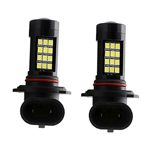 Gazechimp 2 piezas LED 9006 HB4 42-SMD Chip Super Blanco Bombilla de Luz de Niebla para Coche