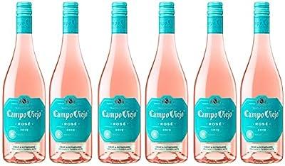 Campo Viejo Rose, Crisp and Elegant Rose Wine, 75 cl, Case of 6