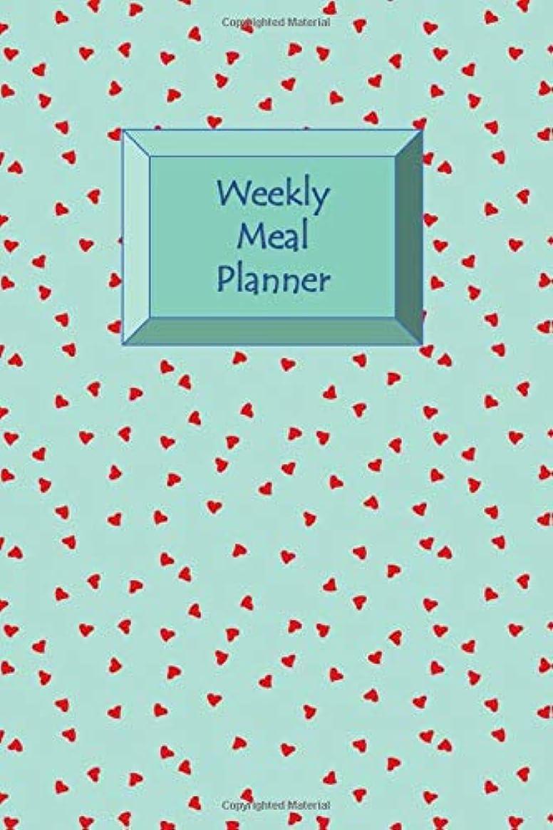 入り口プロット針Weekly Meal Planner: Healthy Diet-Weight Loss Planner-7 Day Menu Planner-Shopping Lists-Weekly Progress Log-Food Eaten Checklist-Extra Exercise Sheets-Handy Size Notebook
