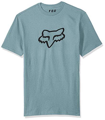 Fox Herren Legacy Head Short Sleeve Basic T-Shirt, hellblau, Klein