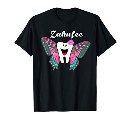 Zahnfee Fasching Kostüm T-Shirt Zahn MFA