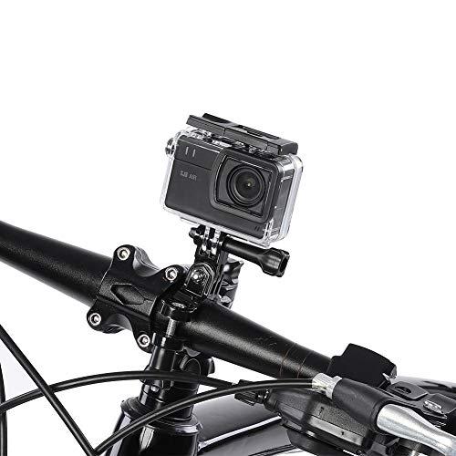 Oumij1 Sport Action Camera WiFi 2.4G HD 1080P - Mini Fotocamera Sportiva Portatile - Videocamera DV per Esterni - Batteria Integrata da 1200mAh di Grande capacità - per Ciclismo,Arrampica