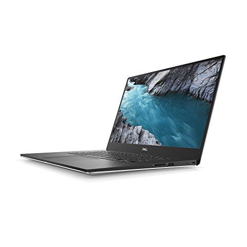 Dell XPS 15 9570-0316 Ultrakompaktes Notebook | Intel i7, 16GB, 512GB SSD, Geforce 1050Ti, Win10 Home | Silber