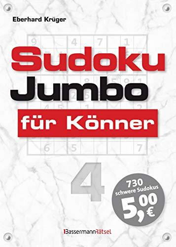 Sudokujumbo für Könner 4: mittlerer bis hoher Schwierigkeitsgrad