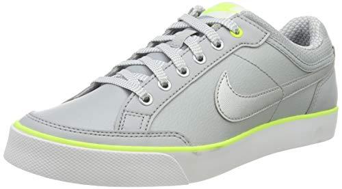 Nike Unisex-Kinder Capri 3 Ltr Gs 579951-010 Tennisschuhe, Mehrfarbig (Grey,Silver 001), 38.5 EU