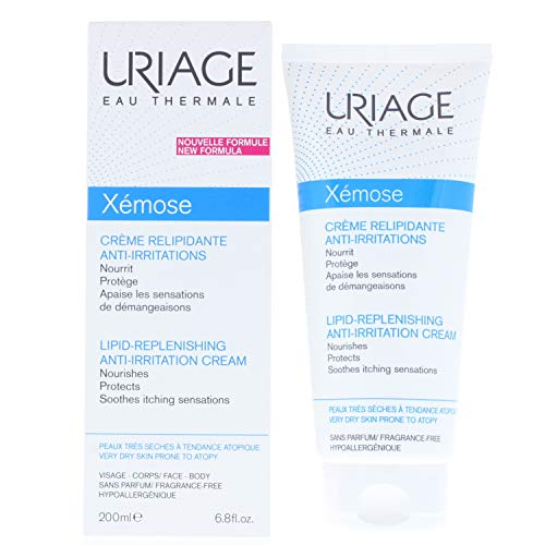 Uriage Xemose lipid-replenishing anti-irritation crema, 200 ml
