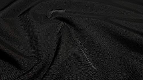 Kadusi Tela Impermeable (hidrofuga) Color Negro. Se Vende por Metros: 1 Unidad = 1 Metro