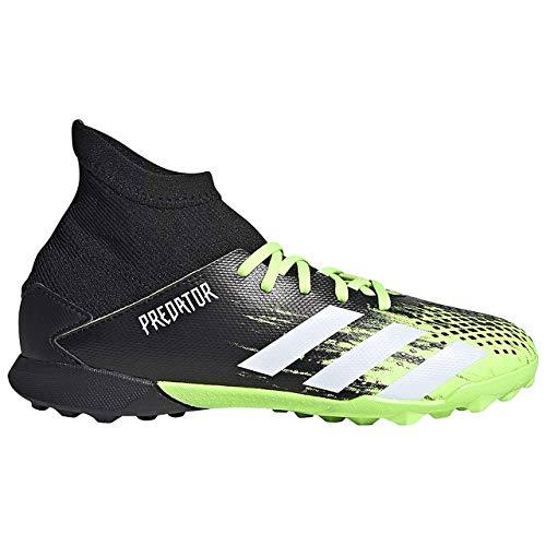 adidas Predator 20.3 TF J, Zapatillas de fútbol para Niños, Signal Green FTWR White Core Black, 31 EU