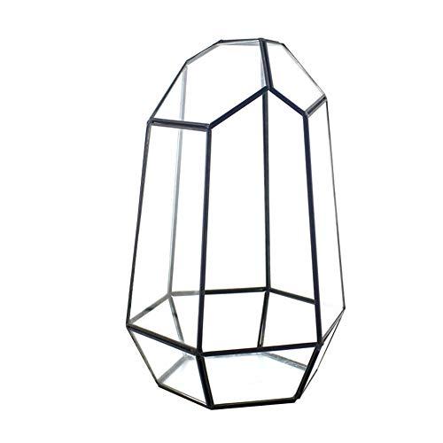 Terrarium Unregelmäßiges Glas Geschlossen Mit Tor Pflanzer Sukkulenten Geometrischen Blume Pflanzenteller Kleine Bonsai Container Reptilien Büro Display Box Kerzenhalter
