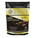 Jnutrition Spartan Muscle, 100% Whey Proteina de suero de leche en polvo, Sin Gluten, batido de...