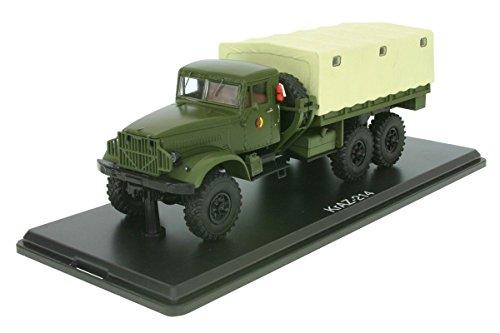 KrAZ 214, oliv, NVA, 0, Modellauto, Fertigmodell, Premium ClassiXXs 1:43