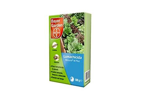 Bayer Lumachicida Mesurol M Plus Confezione Da 500Gr