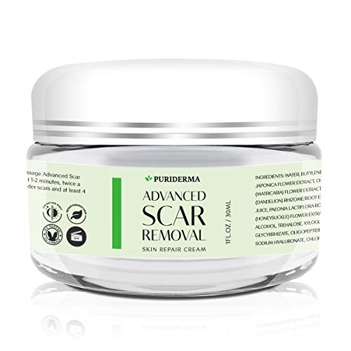 Scar Removal Cream - Advanced Treatment for Face & Body, Old & New Scars from Cuts, Stretch...