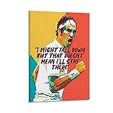 ASDQA Roger Federer Poster, dekoratives Gemälde, Leinwand,