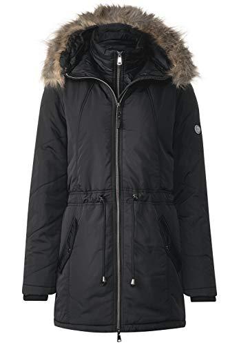 Cecil Damen B100396 Mantel, Schwarz (Black 10001), Large