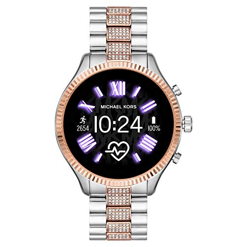 Smartwatches powered with Wear OS by Google work with iPhone and Android Phones. Features may vary between platforms. AMOLED Display, active-matrix organic light-emitting diode Heart Rate & Activity Tracking using Google Fit; Built-in GPS for distanc...