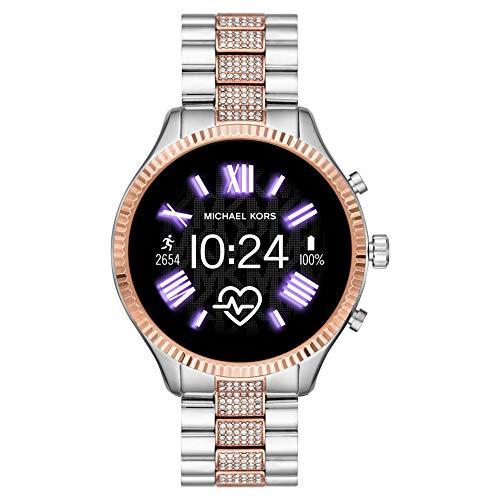 Michael Kors Lexington Connected Smartwatch Gen 5 con tecnología Wear OS de Google, altavoz, frecuencia cardíaca, GPS, NFC y notificaciones smartwatch