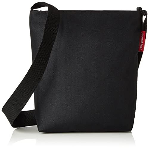Reisenthel shoulderbag S, Borsa da Shopping Donna, Nero, 29 EU