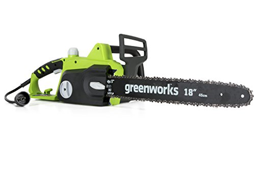 Great Features Of Greenworks 18-Inch 14.5 Amp Corded Electric Chainsaw 20332