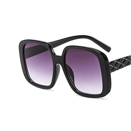 FRGH Gafas De Sol Ovaladas para Mujer, Gafas De Sol De Montura Redonda Retro Vintage para Mujer, Diseñador De Marca Eeywear Uv400