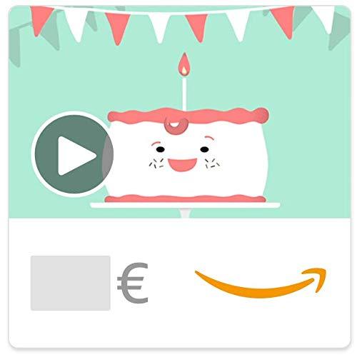Buono Regalo Amazon.it - Digitale - Vestito di compleanno (animato)