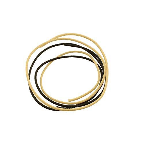 Allparts GW-0832-000 Vintage Style Tonabnehmer Kabel schwarz/weiß