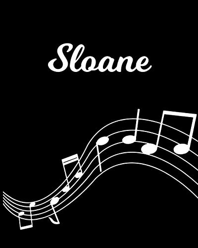 Sloane: Sheet Music Note Manuscript Notebook Paper – Personalized Custom First Name Initial S – Musician Composer Instrument Composition Book – 12 … Guide – Create Compose & Write Creative Songs
