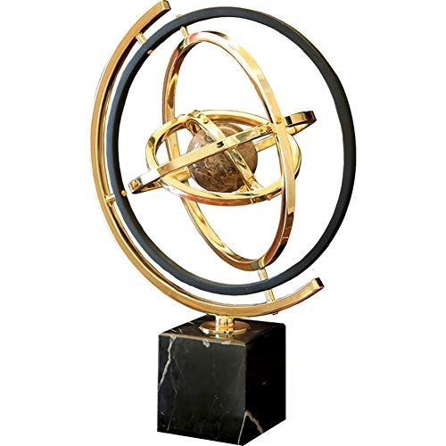 3D Solar System Marmor-Material Globus, Helle Austauschbare Globe Miniaturmodell, Home Desk und Büro-Dekorationen, Freunde