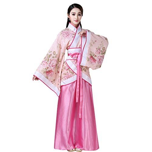 Inlefen Hanfu Damen Chinesischen Stil Kostüm Ancient Traditional Kostüm Kleider für Bühnenshow Performances