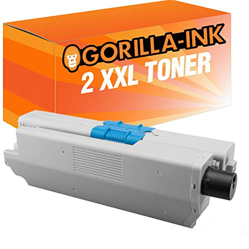 Gorilla Ink 2 Toner Negro Compatible OKI C 332 C332