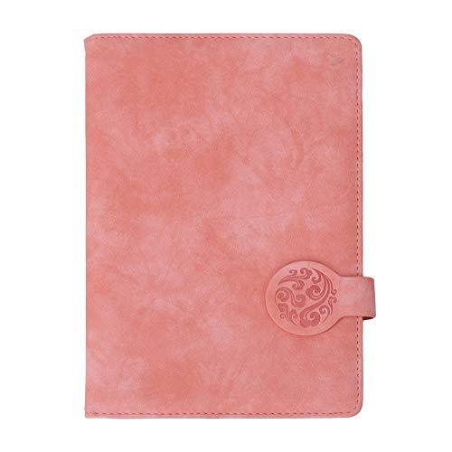 Cuaderno de Notas, Cuaderno de Diario reglado por la Universidad, Cuaderno Que se Puede Usar Solo Adecuado para la(Pink Single Book Does Not Have a Pen)