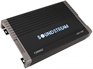 Soundstream AR4.1200 Arachnid Series 1200W Class A/B Full Range Amplifier