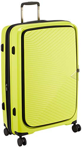[シフレ] スーツケース ハードジッパー GREEN WORKS(グリーンワークス) 軽量 拡張機能付 GRE2197-70 80L 70 cm 4.2kg ライム
